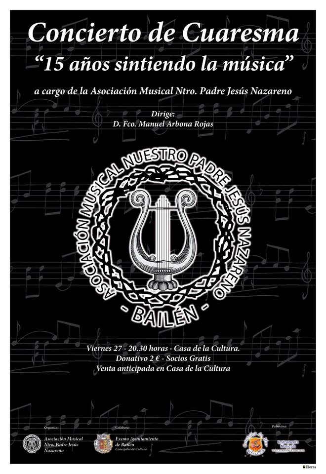 cartel concierto cuaresma 2015