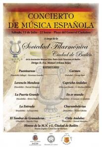 Concierto de Música Española - 2015